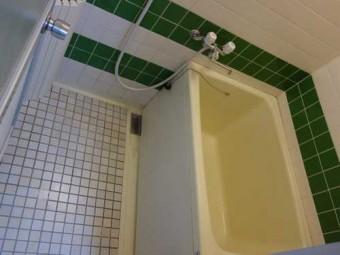 お風呂すのこ施工前