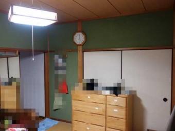 和室壁、施工前