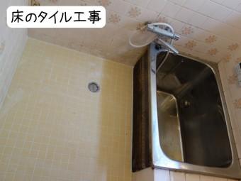 浴室入口ドア戸交換